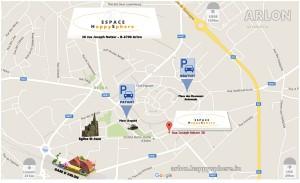 Espace Happysphere Plan d acces arlon luxembourg