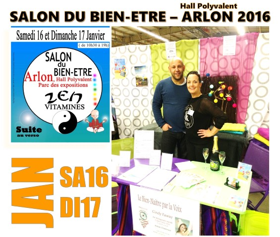 Salon Zen vitamine arlon 2016