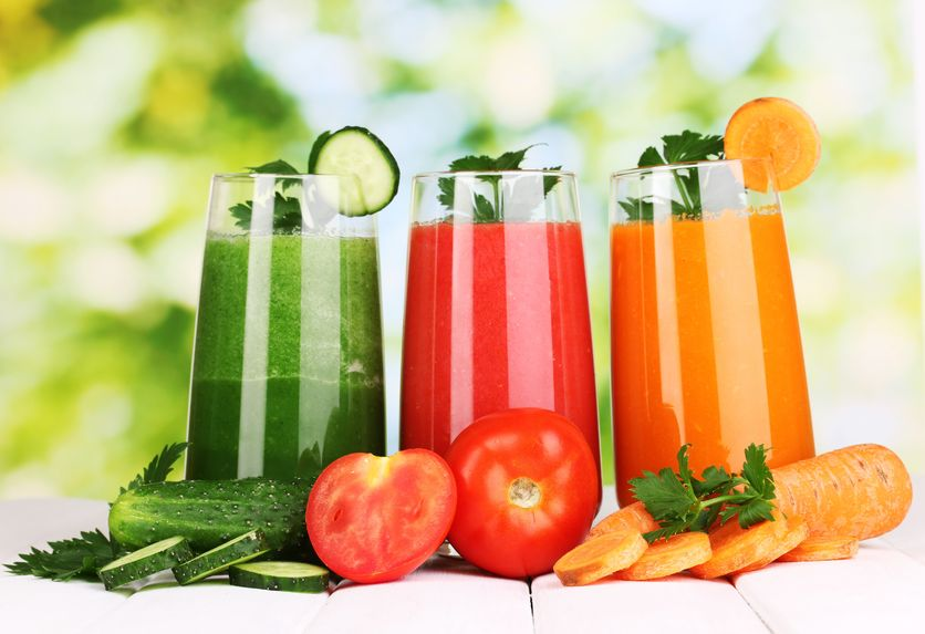 jus de legumes bio
