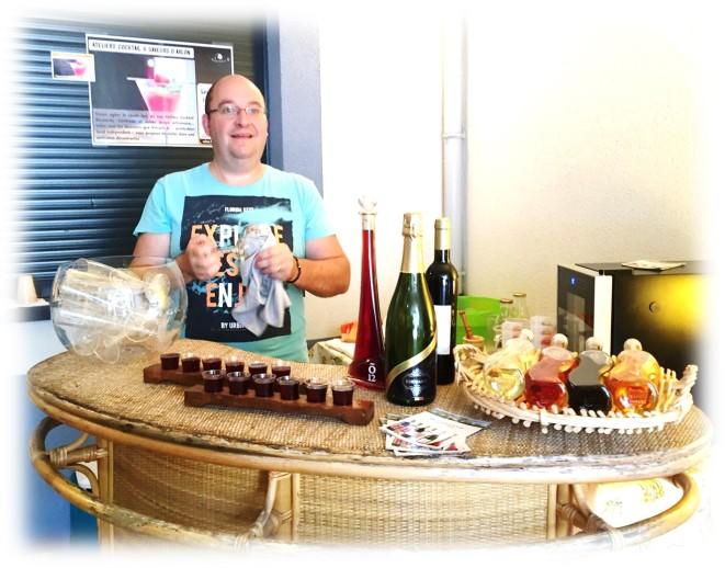 Renaud et ses cocktails