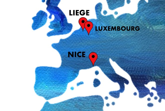 Liege Luxembourg Nice