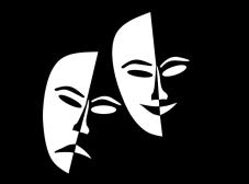 masque comedien theatre