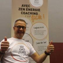 Guy Debilde sur le Stand HappySphere
