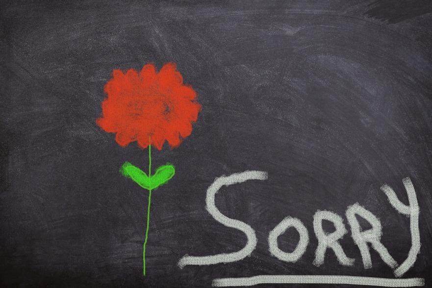 desole sorry